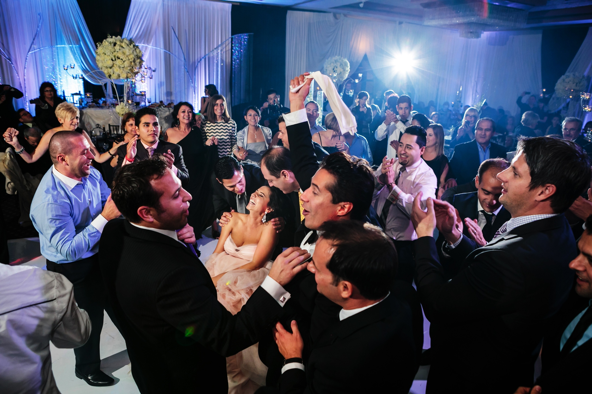 Epic and Layered Wedding Reception Photography