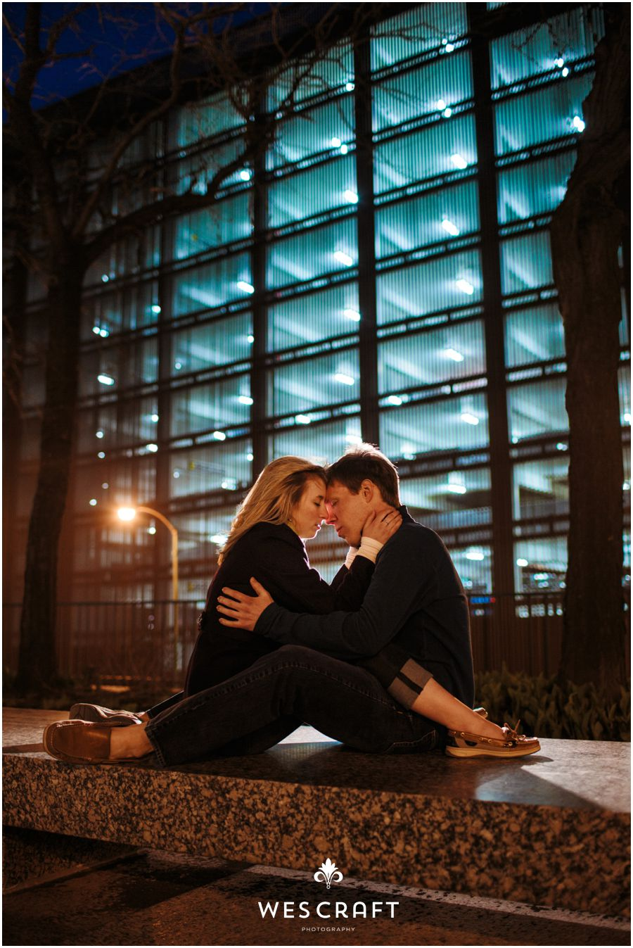 A Chicago Riverwalk Engagement Session