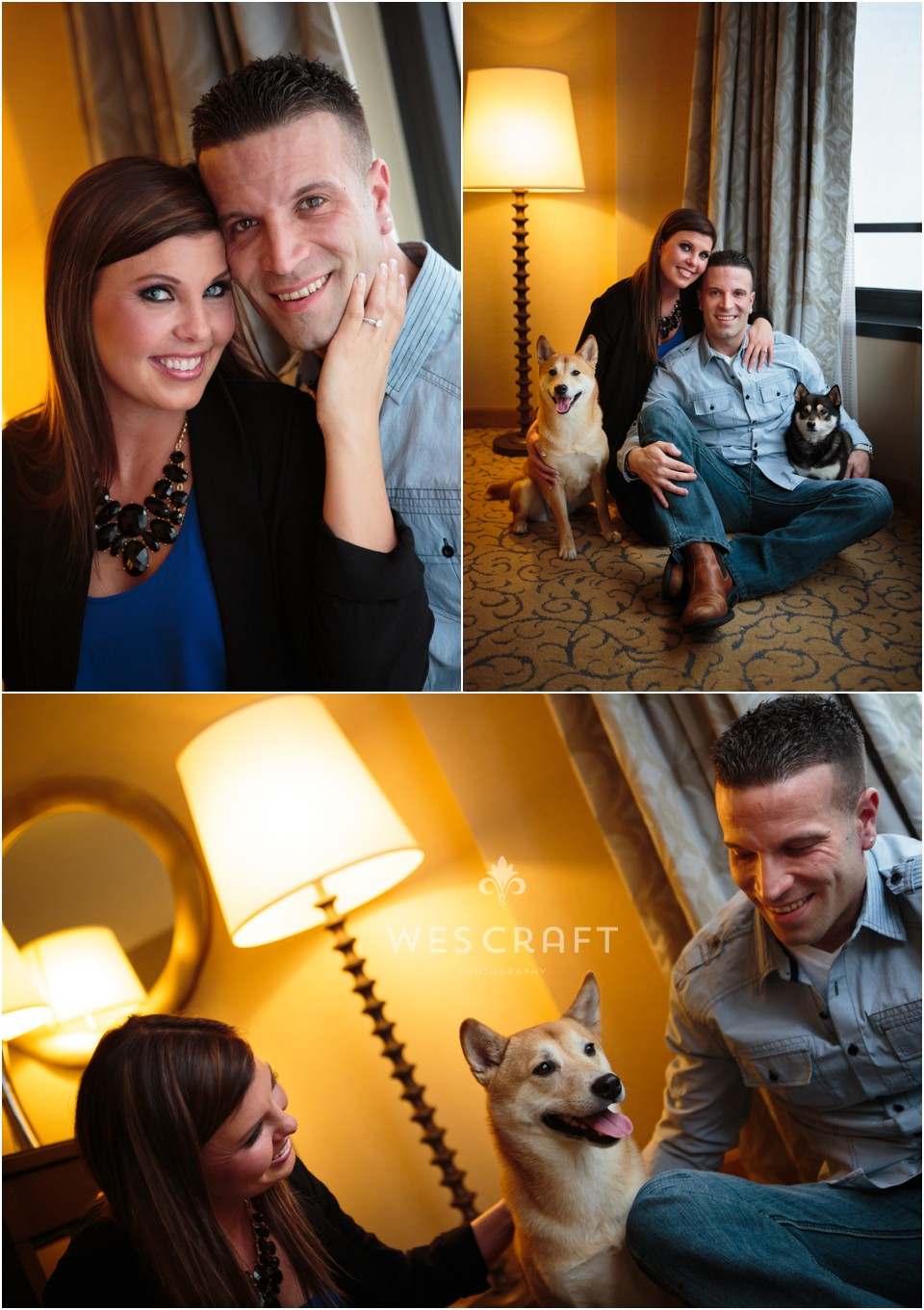 Chicago Engagement in Winter