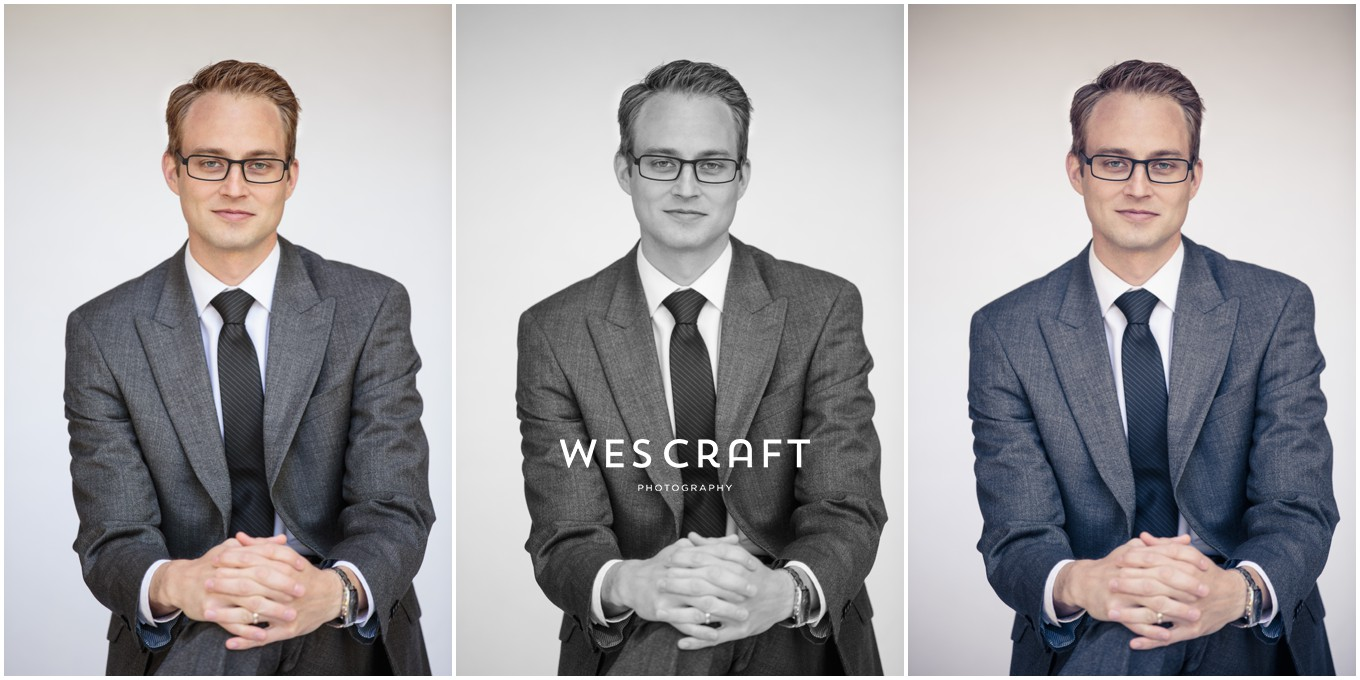 This attorney wanted a new profile pic for his social media and Linked In profile. We opted for a contemporary soft white background and soft light. We can treat the images either natural, black and white, or subtlety colorized to coordinate with your website or branding.