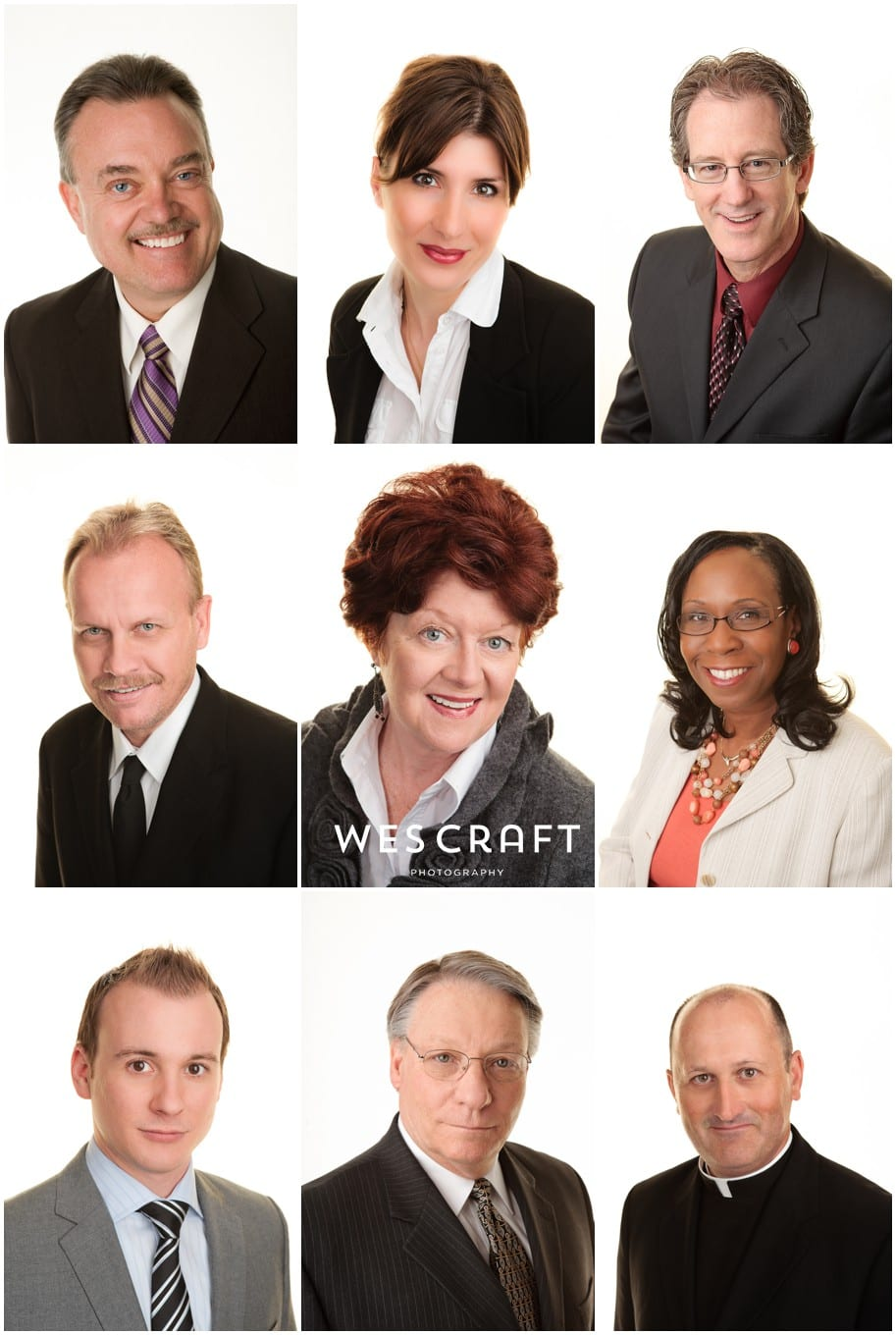 We can create a bright bold high-key headshot for you and your partners that will really stand out on the web or social media outlets.