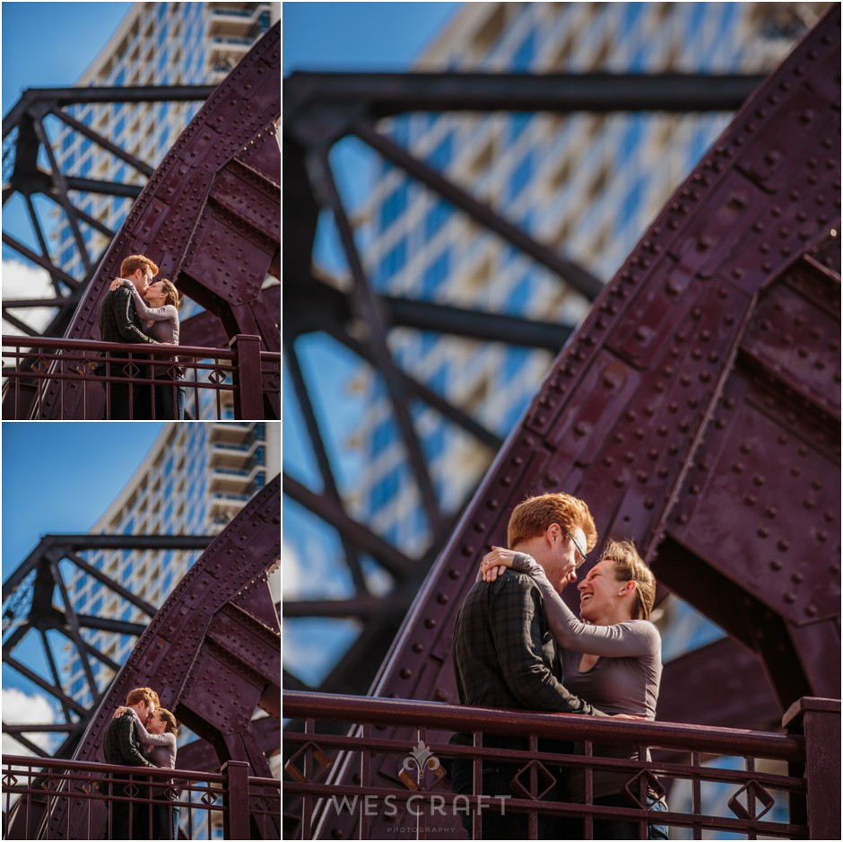 Canal Street Engagement Session - Courtney + Sean