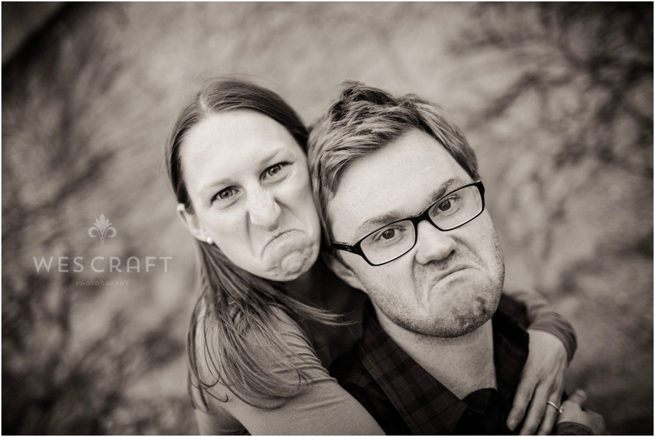 More Mean Mugs.  Will this become an engagement trend in 2014? It may be too soon to tell but I hope so.