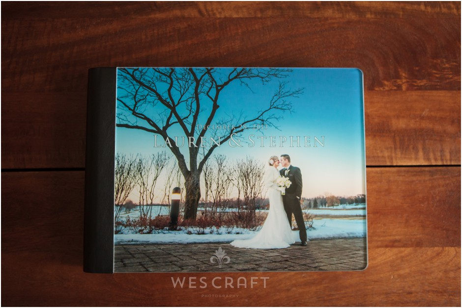 One of our most popular contemporary album options is the Acrylic Photo Cover