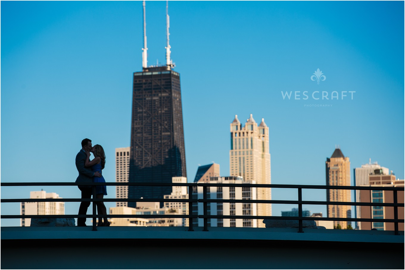 Chicago Skyline from Cafe Brauer Photography