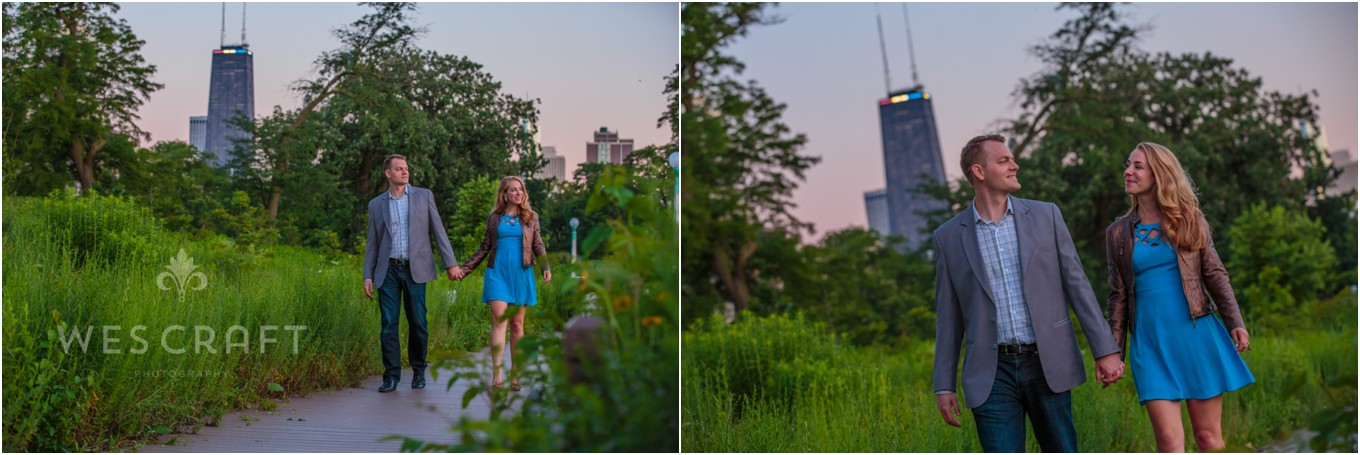 Twilight Photography in Lincoln Park, Chicago