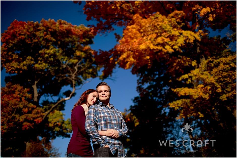 Romantic Oak Brook Engagement