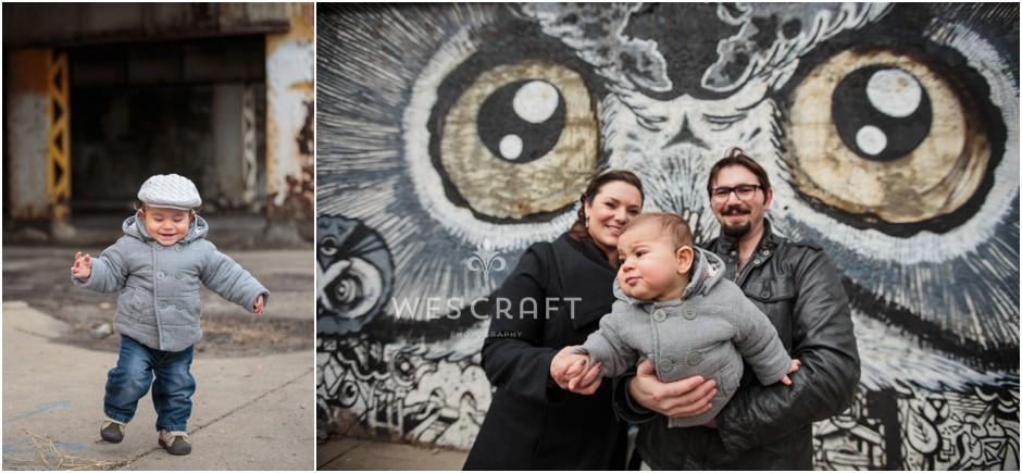 Pilsen Mural Family Session