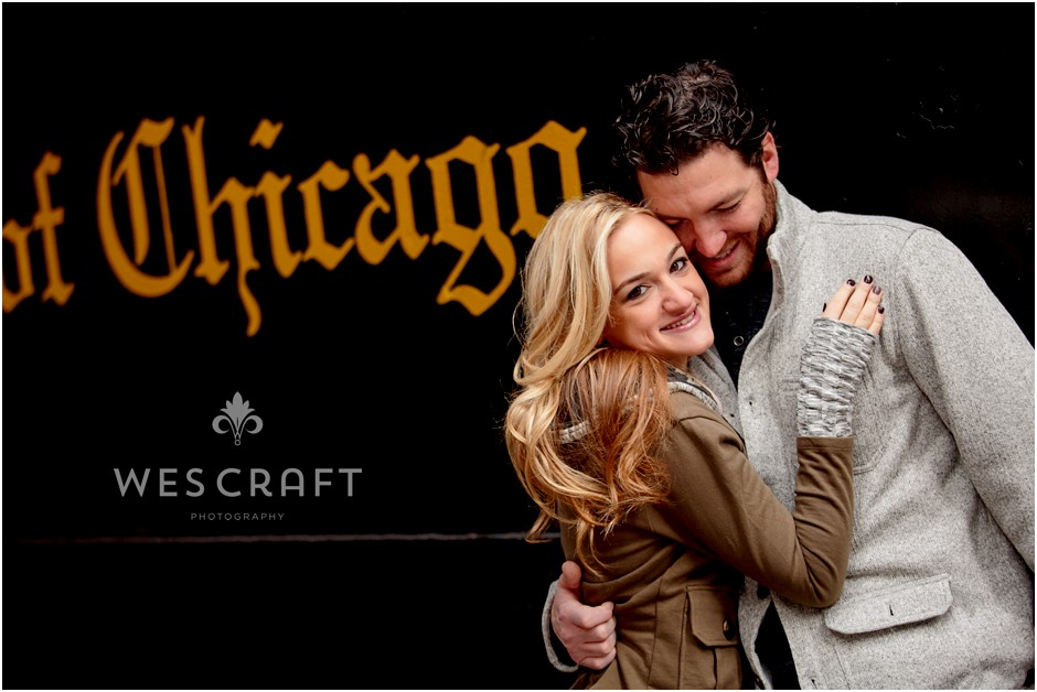 Art Institute Engagement Session, Wes Craft Photography, Fall Colors,  Chicago Photographer