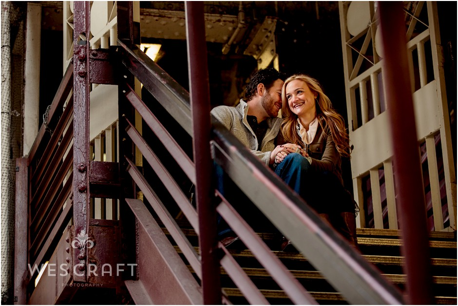 Art Institute Engagement Session, Wes Craft Photography, Fall Colors, Chicago Engagement