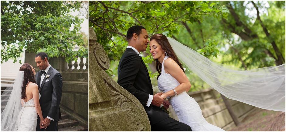 Grant Park Chicago Bridal Portraits, Wes Craft Photography, Summer Wedding