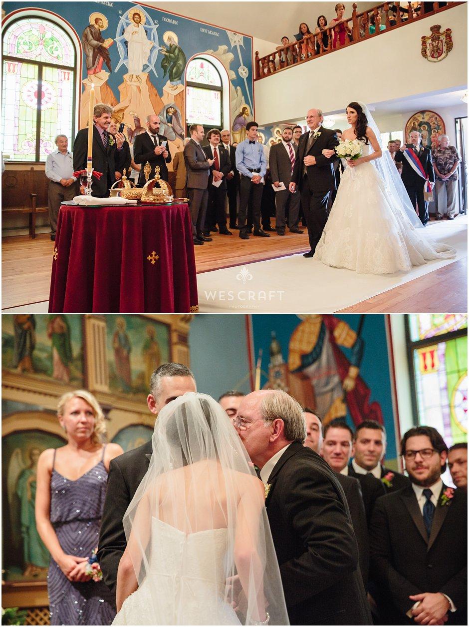 Serbian Orthodox Wedding Ceremony