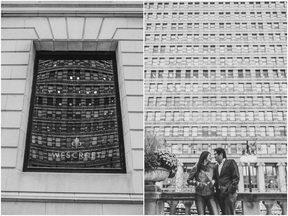 Chicago Loop Engagement Session