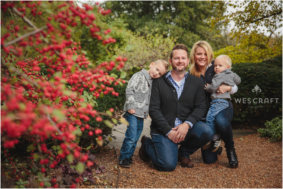 Fall Family Photography by Naperville, IL Photographer Wes Craft