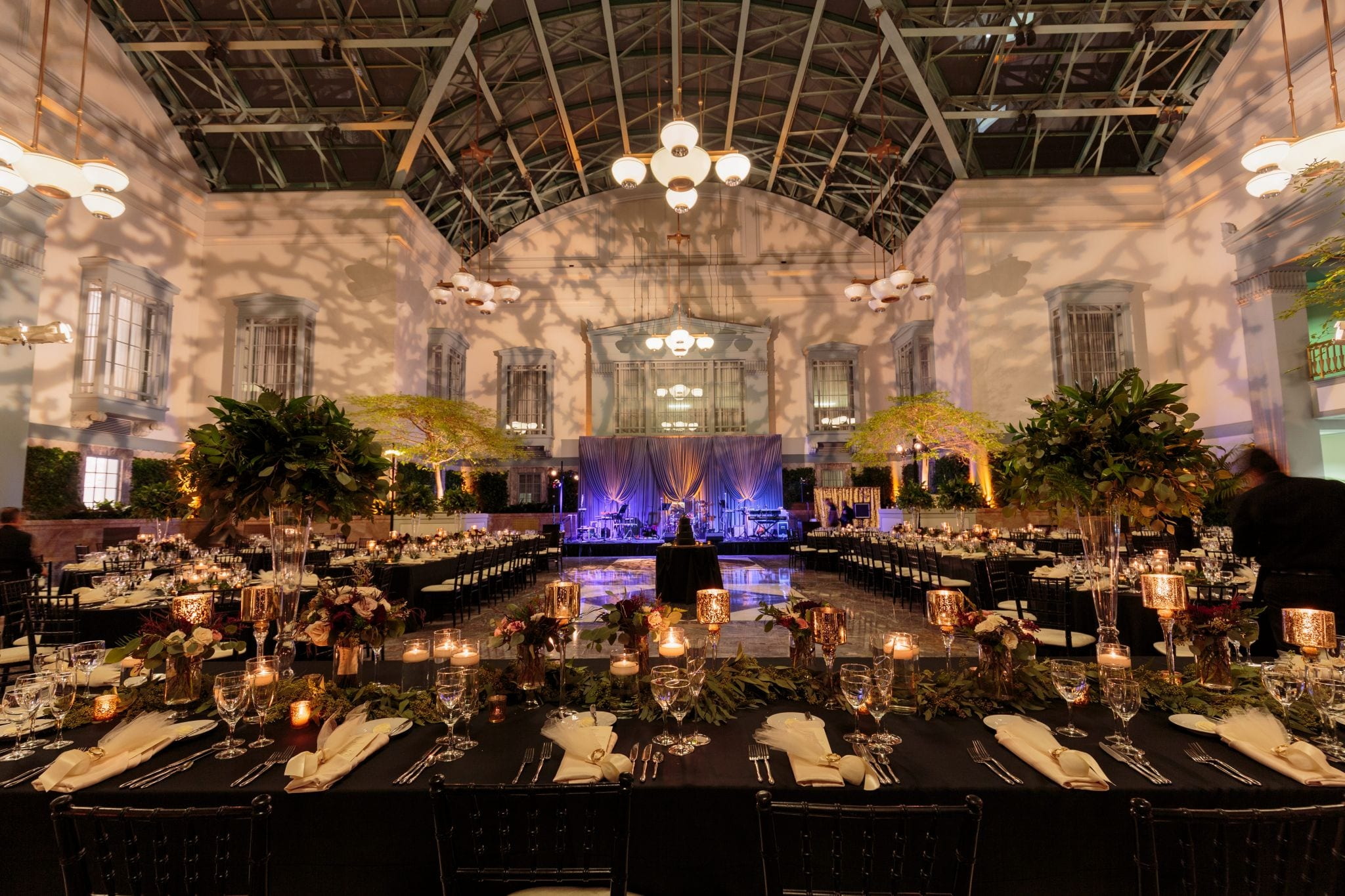 Harold Washington Library Reception Decor - Wes Craft Photography