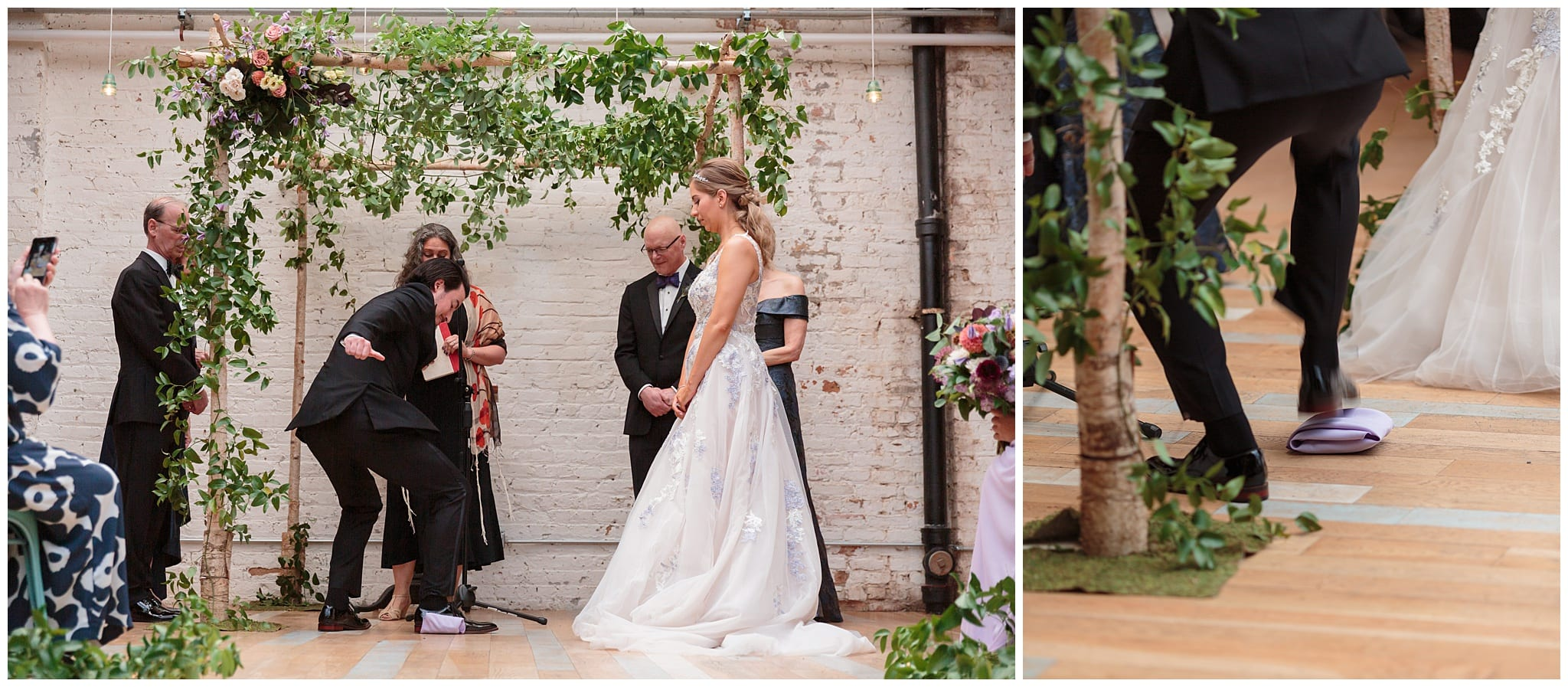 Jewish Wedding at the Joinery - Wes Craft Photography