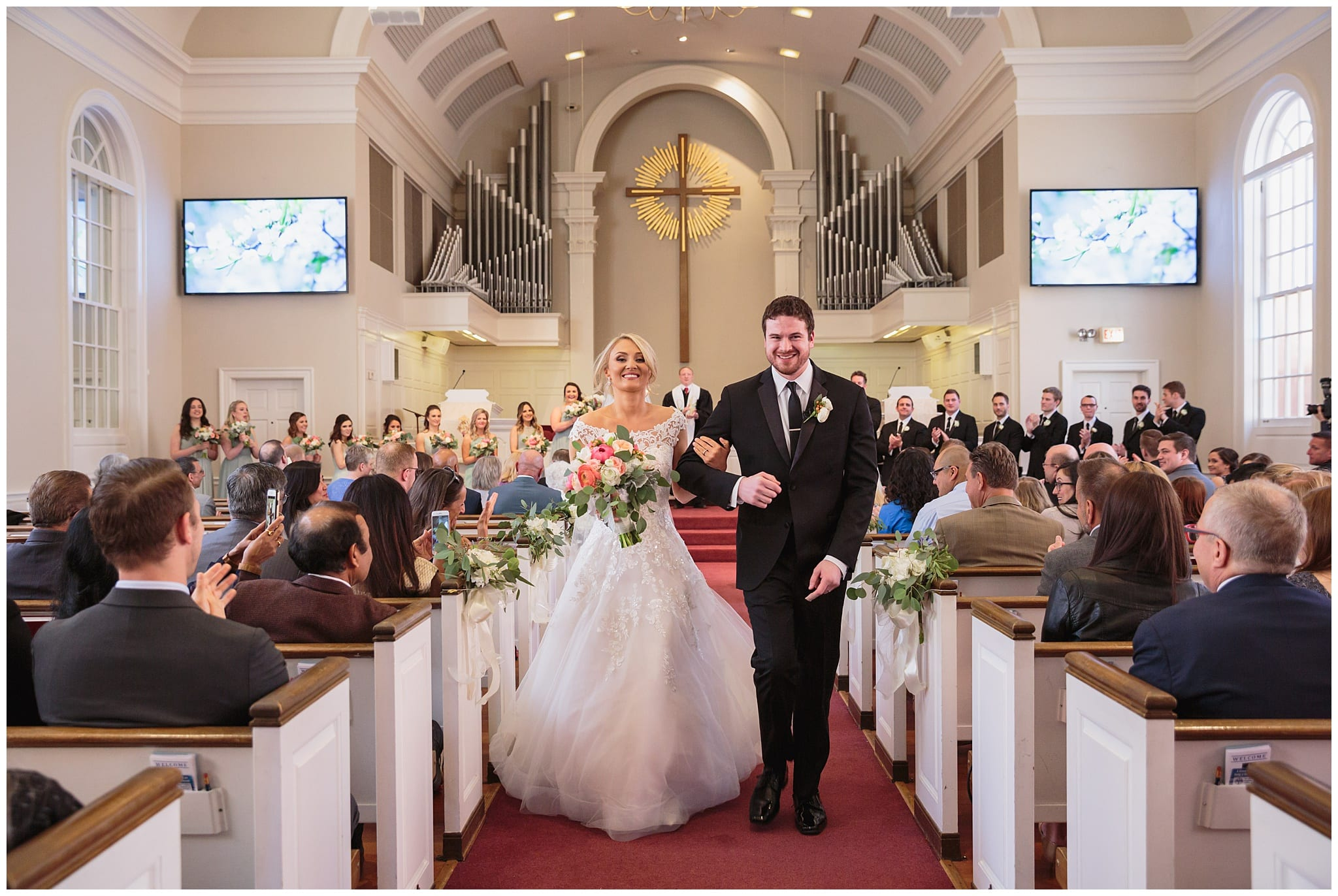 First Presbyterian Church of Arlington Heights Wedding - Wes Craft Photography