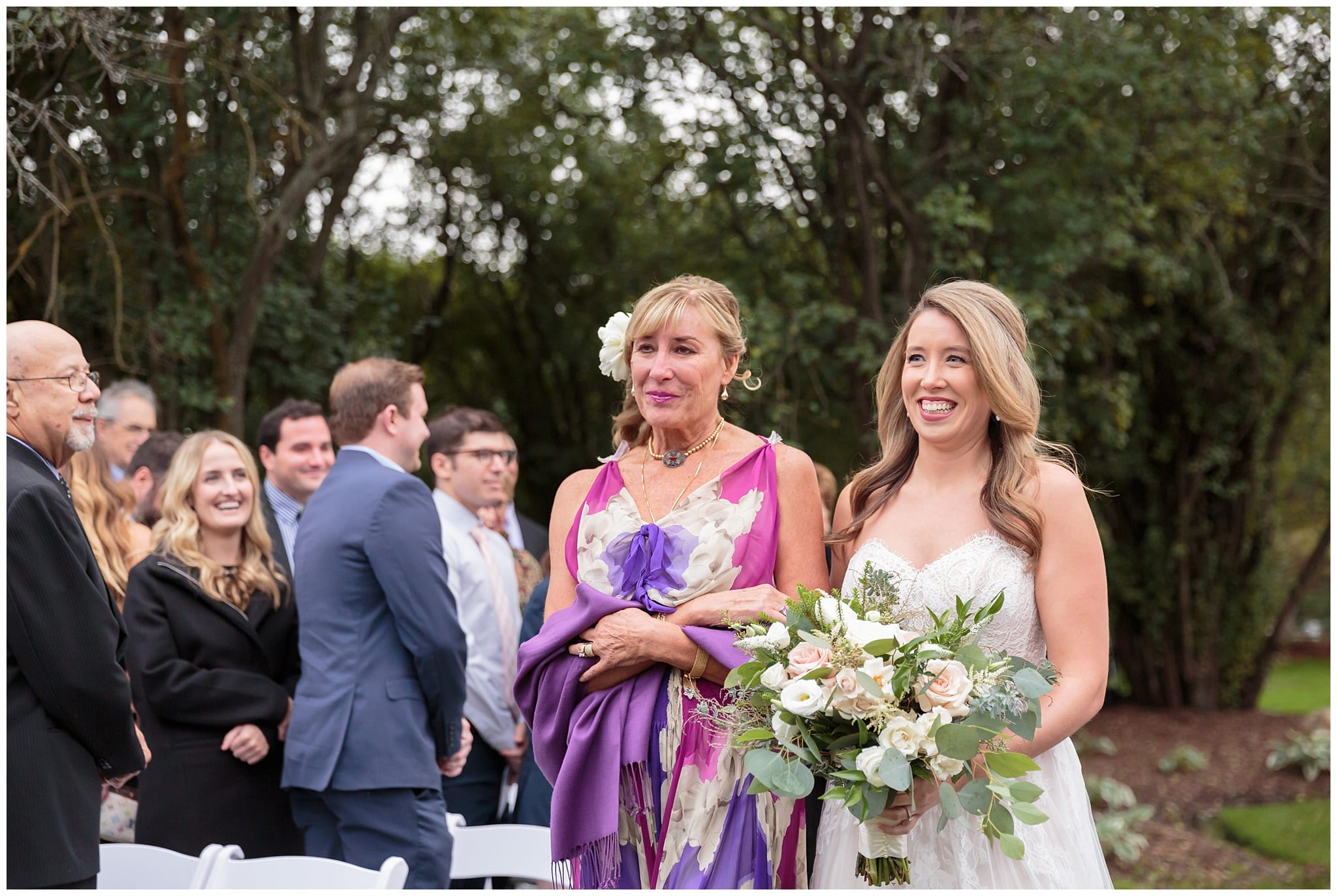 Oak Brook Bath and Tennis Club Outdoor Ceremony