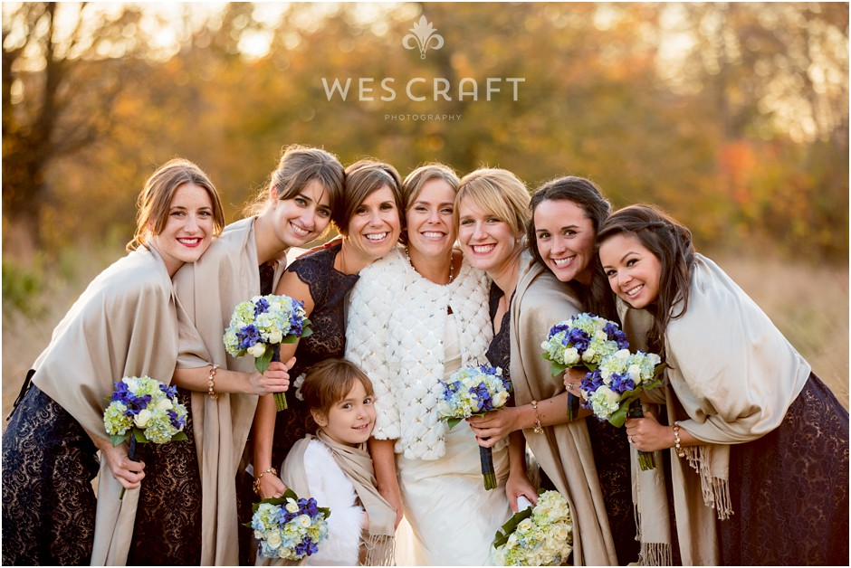 A Fall wedding at Artifact Events Wedding