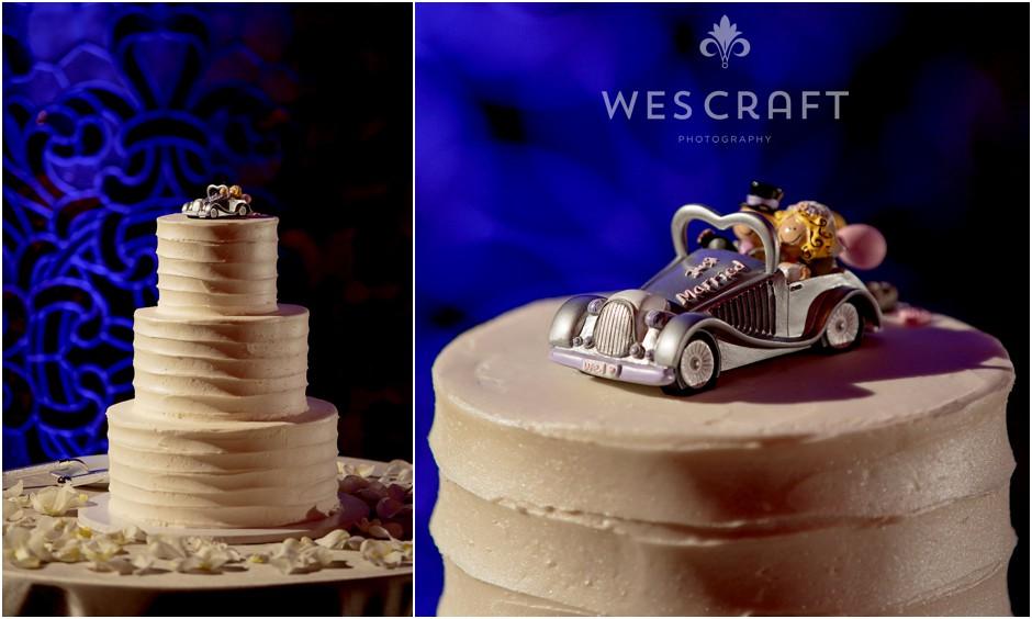 ArchitecturalArtifactsFallWeddingWesCraft035, dinkels bakery, Chicago Bakery, Weddingstar cake topper