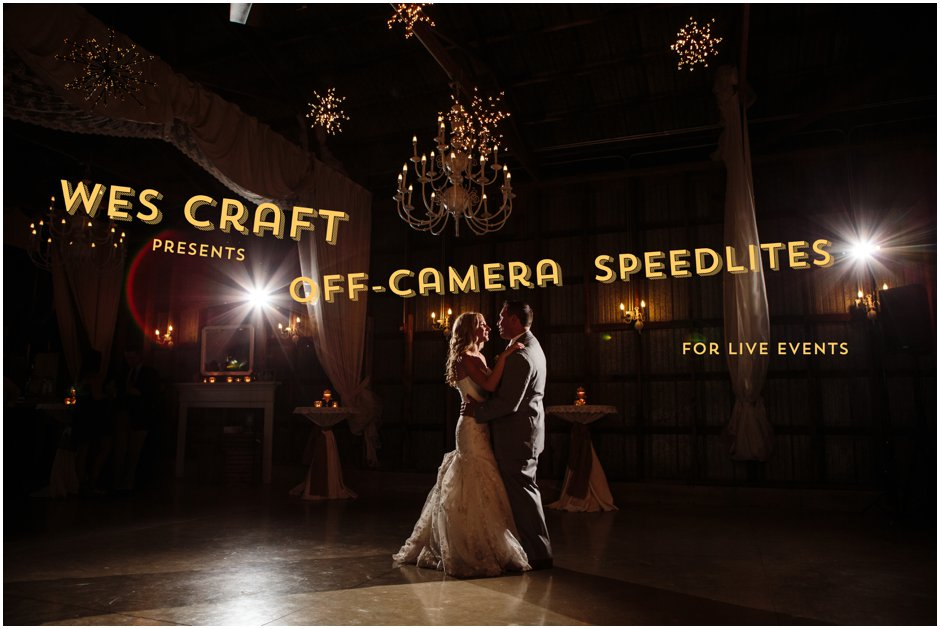 Event Lighting with Off Camera Strobes