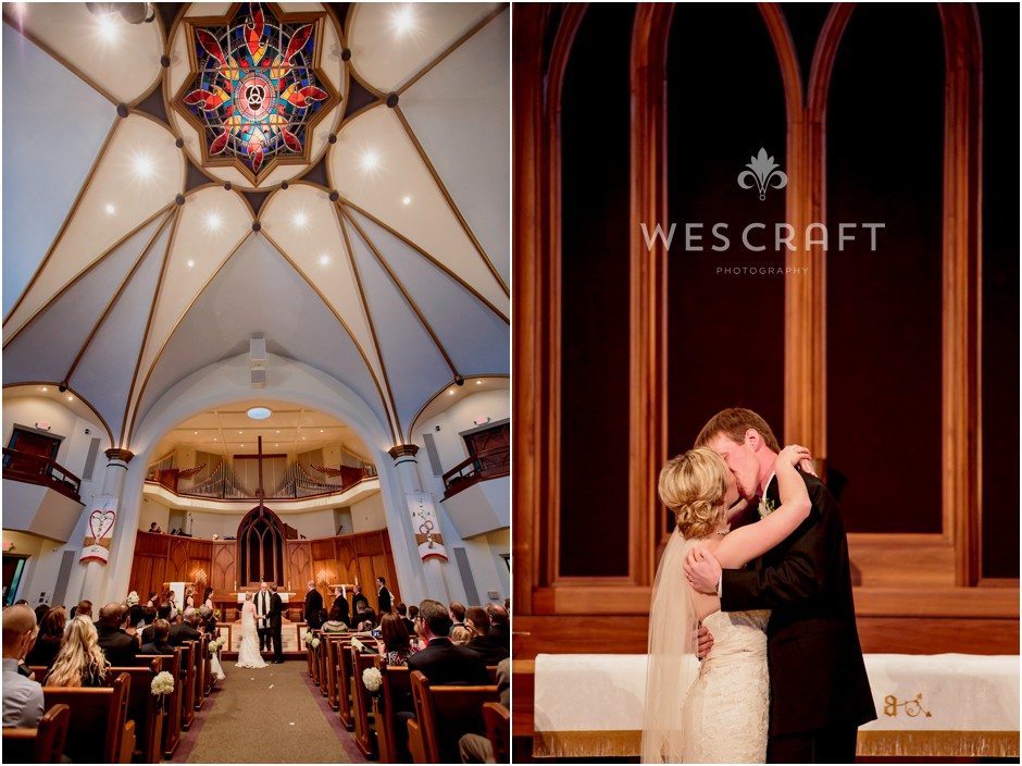 First United Methodist Church, peoria, wes craft photography, wedding