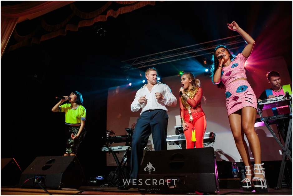 Russian Pop Group Serebro in Chicago, USA.