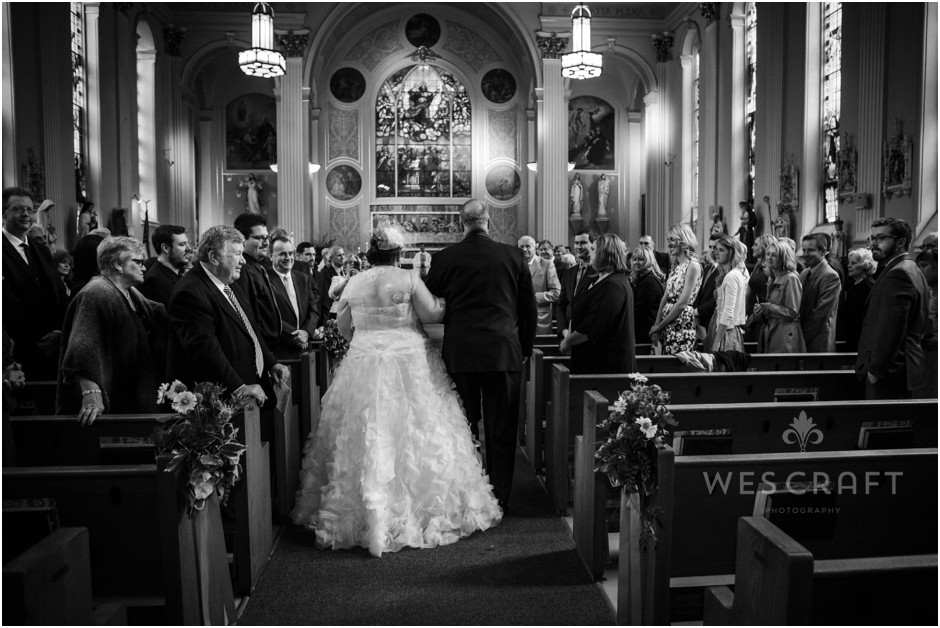 Wedding Mass at Assumption Catholic Church, Chicago, IL