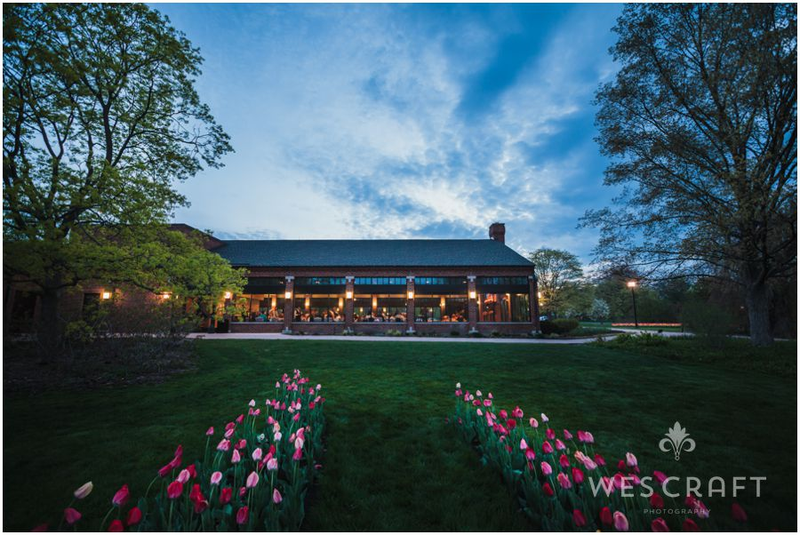 Cantigny Park Wedding in Spring